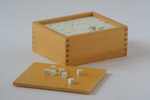 cubes box
