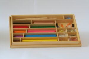 Geometric Stick Material