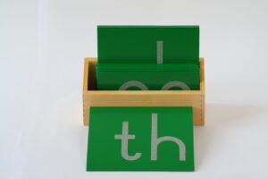 Sandpaper Double Letters, Print, +  Box