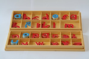 Large Movable Alphabet, Wood