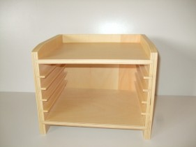 Cabinet for 5 Zoology puzzles