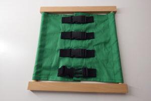 Bag clip dressing frame