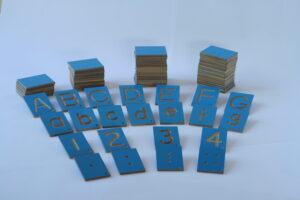 Number + Letter Tiles