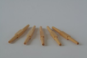 individual spindle - set of 5