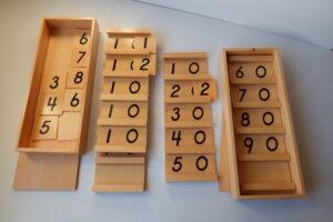 Sequin board A & B ( Teen + Tens board)-(11-19)(11-99)