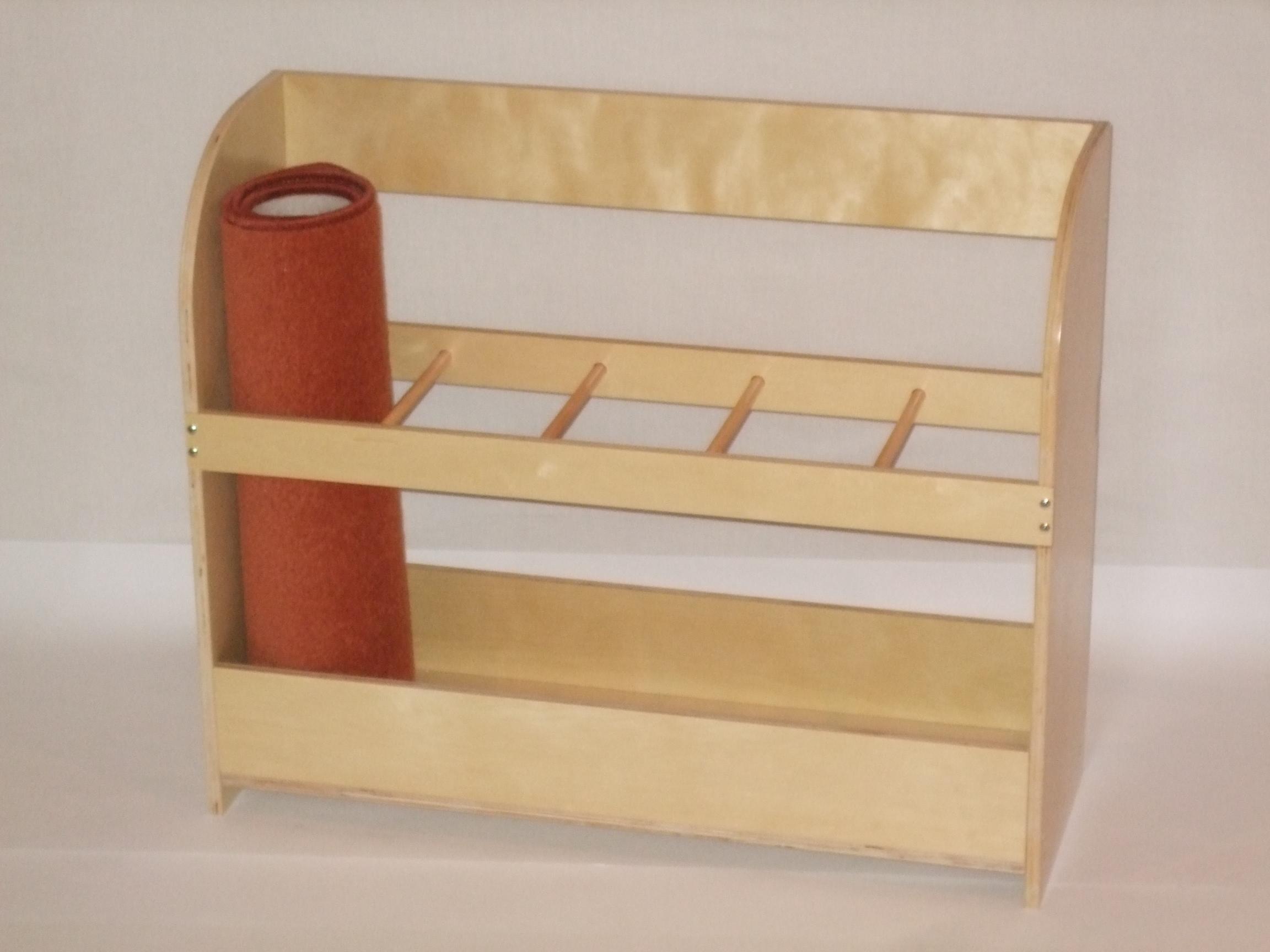 Mat Stand For 5 Mats 72 4 X 25 X 60cm Montessori Pre