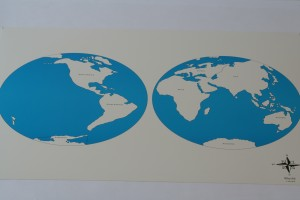 2 Control maps of Continents (labelled +unlabelled)