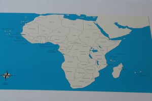 2 Control maps of Africa (labelled +unlabelled)