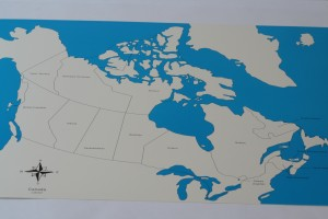 2 Control maps of Canada (labelled +unlabelled)