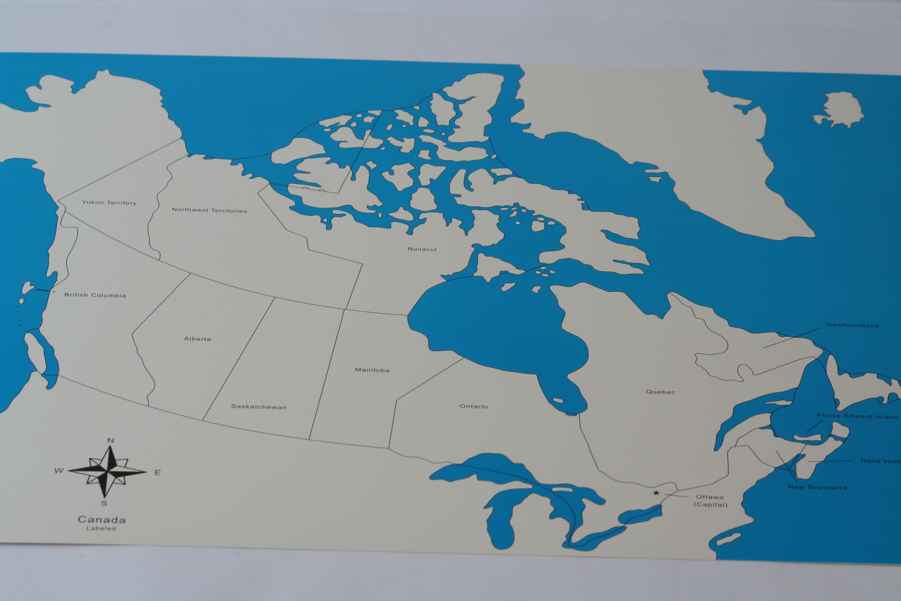 Map Of Canada Unlabelled.2 Control Maps Of Canada Labelled Unlabelled