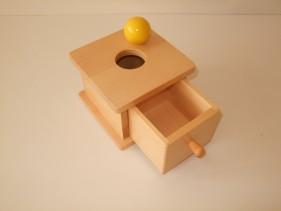 toddler imbucare box with ball