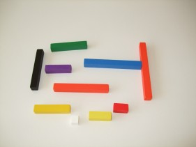 Coloured rods