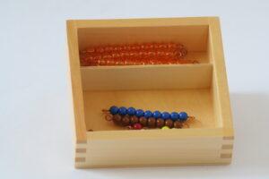 Teen beads ( 9 bead bars of 10 + coloured bead stair)