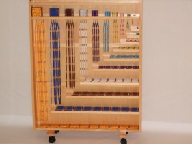 Complete Bead Material with Rack (Bead Dia-0.8cm)