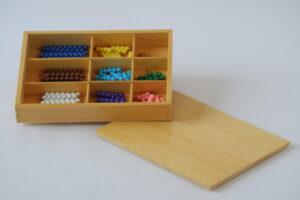 checker board beads