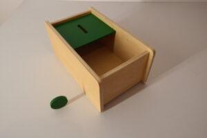 Imbucare box with flip lid (1 slot)