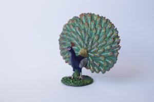 Peacock                                  L 5  H 9 cm