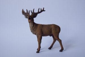 Red Deer Stag                        L 10  H 10.5 cm