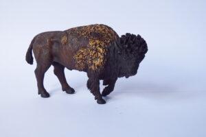 Bison                                      L 12.5  H 7.5 cm