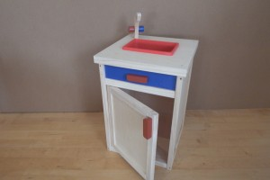 Play sink unit                         (34cm x 34cm x 50cm)