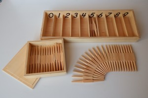 Spindle Boxes  with spindles in separate box
