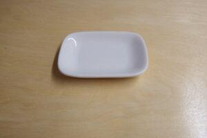 Rectangular plate         11 x7.5 x 2 cm