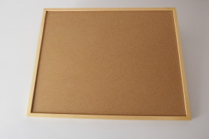 Cork workboard for geometric sticks (with S51)